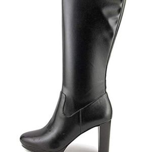Nine West Womens Krayzie Black Boot-NEW